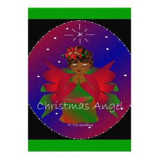 アフリカ系アメリカ人 クリスマス 天使 赤ん坊 女 子 祈ること