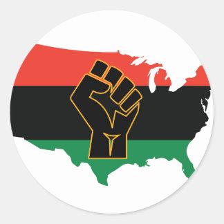 アフリカ系アメリカ人 ラウンドシール