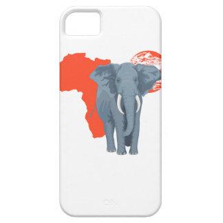 アフリカ象 iPhone SE/5/5s ケース