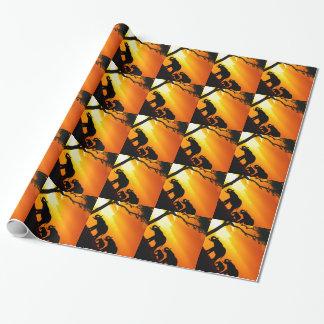 アフリカ2の包装紙 ラッピングペーパー