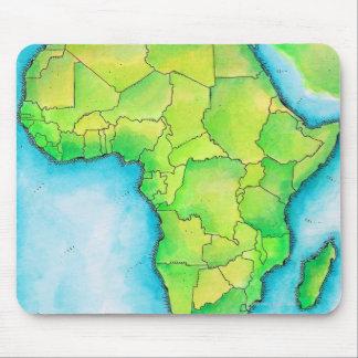 アフリカ3の地図 マウスパッド