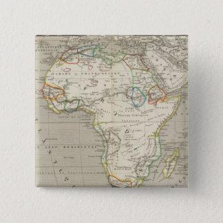 アフリカ8 5.1CM 正方形バッジ