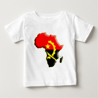 アフリカ: アンゴラ ベビーTシャツ