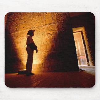 アフリカ、エジプト、アスワン、Philaeの寺院の複合体の マウスパッド
