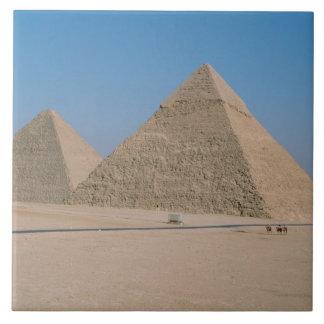 アフリカ-エジプト-カイロ-ギーザの素晴らしいピラミッド、 タイル