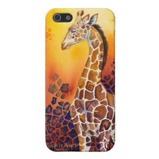 アフリカ-キリンの陰 iPhone 5 カバー