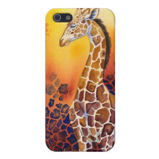 アフリカ-キリンの陰 iPhone 5 COVER