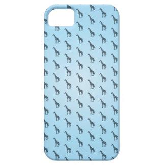 アフリカ-キリンの青 iPhone SE/5/5s ケース