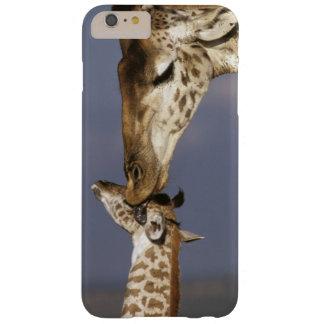 アフリカ、ケニヤ、マサイ語マラ。 キリン(キリン BARELY THERE iPhone 6 PLUS ケース