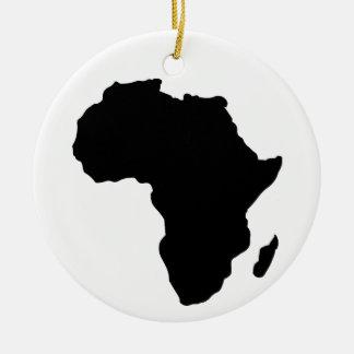 アフリカ セラミックオーナメント