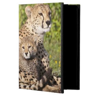 アフリカ。 タンザニア。 チータの母および幼いこども2 iPad AIRケース
