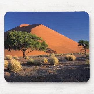 アフリカ、ナミビアのNamib-Naukluff公園、Sossosvlei マウスパッド