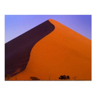 アフリカ、ナミビア、Namib NP、Sossusvleiの砂 ポストカード