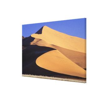 アフリカ、ナミビア、SesriemおよびSossusvlei Namib キャンバスプリント