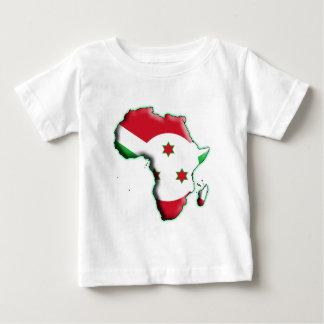 アフリカ: ブルンディ ベビーTシャツ