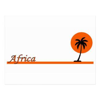 アフリカ ポストカード