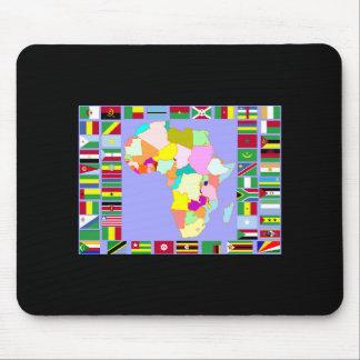 アフリカ マウスパッド