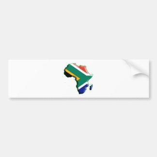 アフリカ: 南アフリカ共和国 バンパーステッカー
