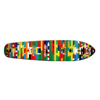 アフリカ 旗 スケートボード