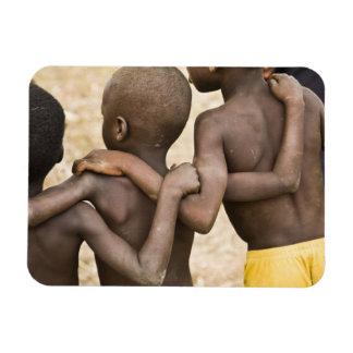 アフリカ、西アフリカ、ガーナ、Yendi。 クローズアップの打撃 マグネット