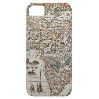 アフリカ、c. 1635年の旧式な旧世界の地図 iPhone SE/5/5s ケース