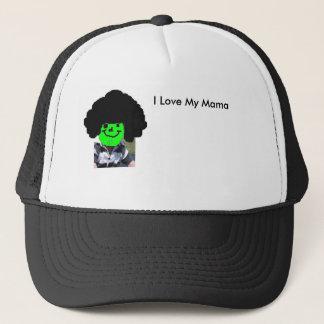 アフロのベビー、私は私のママを、私愛します私のママを愛します キャップ
