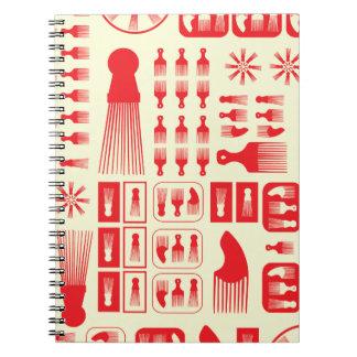 アフロの櫛新しいRED.ai ノートブック