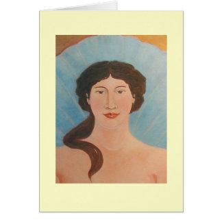 アフロディーテの菩薩アイコン カード