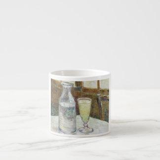 アブサンのファインアートを用いるフィンセント・ファン・ゴッホの静物画 エスプレッソカップ