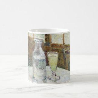 アブサンのファインアートを用いるフィンセント・ファン・ゴッホの静物画 モーフィングマグカップ