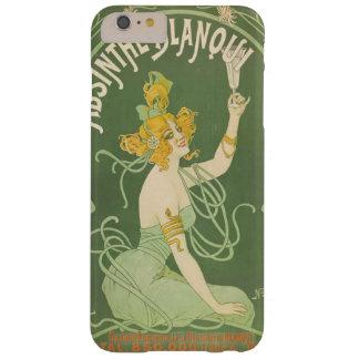 アブサンの緑の妖精のアールヌーボーのヴィンテージ BARELY THERE iPhone 6 PLUS ケース