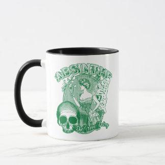 アブサンの緑の妖精の女性 マグカップ