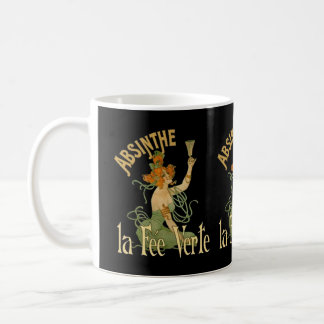 アブサンの緑の妖精のLa料金VerteのポスターSteampunk コーヒーマグカップ