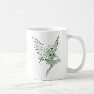 アブサンの芸術の署名の緑の妖精1B コーヒーマグカップ
