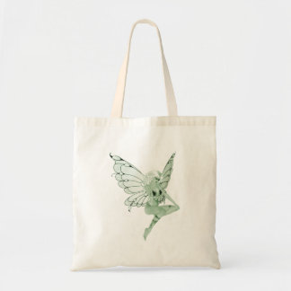 アブサンの芸術の署名の緑の妖精1B トートバッグ