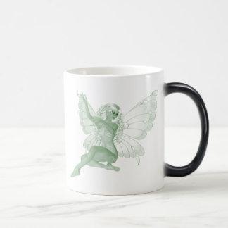 アブサンの芸術の署名の緑の妖精4 モーフィングマグカップ
