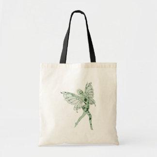 アブサンの芸術の署名の緑の妖精8 トートバッグ