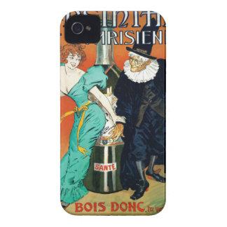 アブサンのParisienneのヴィンテージのフランス広告 Case-Mate iPhone 4 ケース