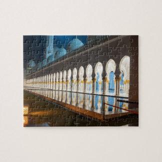 アブダビの統一されたなAraのZayed Grand教主のモスク ジグソーパズル