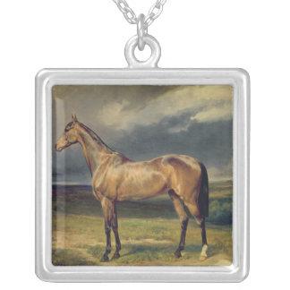 アブドルMedschidクリのアラビアの馬1855年 シルバープレートネックレス
