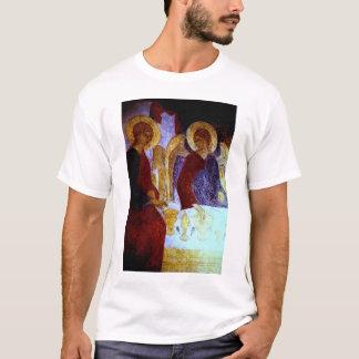 アブラハムに現われる天使 Tシャツ