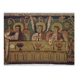 アブラハムの物語からの3つの天使、 ポストカード