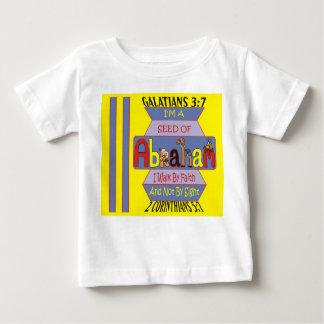 アブラハムの特別にTシャツの種 ベビーTシャツ