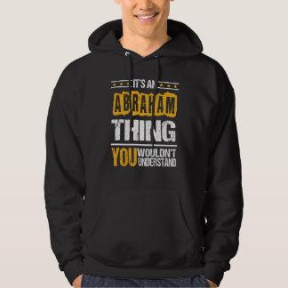 アブラハムのTシャツであることはよいです パーカ
