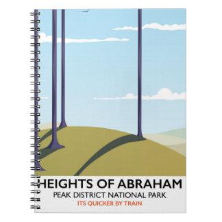 アブラハムピーク地区の柵ポスターの高さ ノートブック