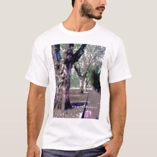 アブラハム田舎者と歩くこと! Tシャツ