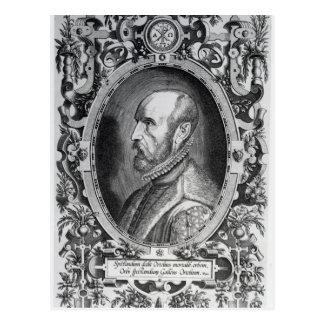 アブラハムOrtelius ポストカード