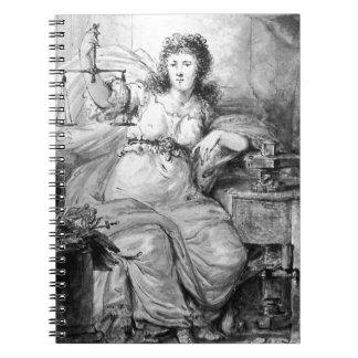 アブラハムvan Strij著Dordrechtの硬貨のアレゴリー ノートブック