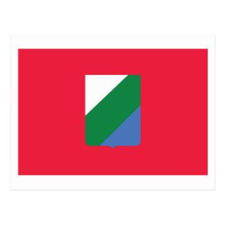 アブルッツォの旗 ポストカード