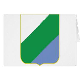 アブルッツォ(イタリア)の紋章付き外衣 カード